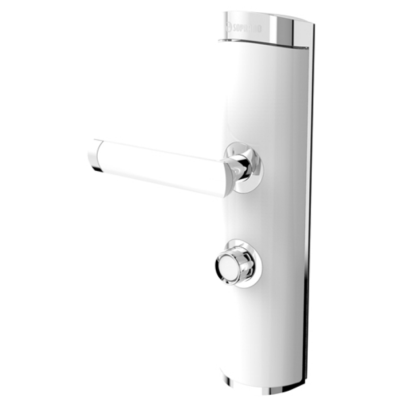 Comprar Fechadura Eletrônica Branca Cerâmica - Fechadura Eletrônica Branca