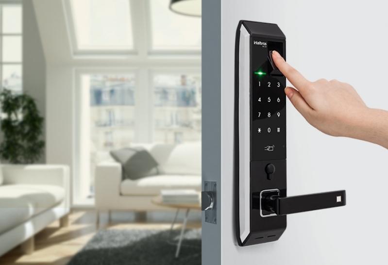 Fechadura Eletrônica Biométrica Valores Vila Progredior - Fechadura Eletrônica com Chave