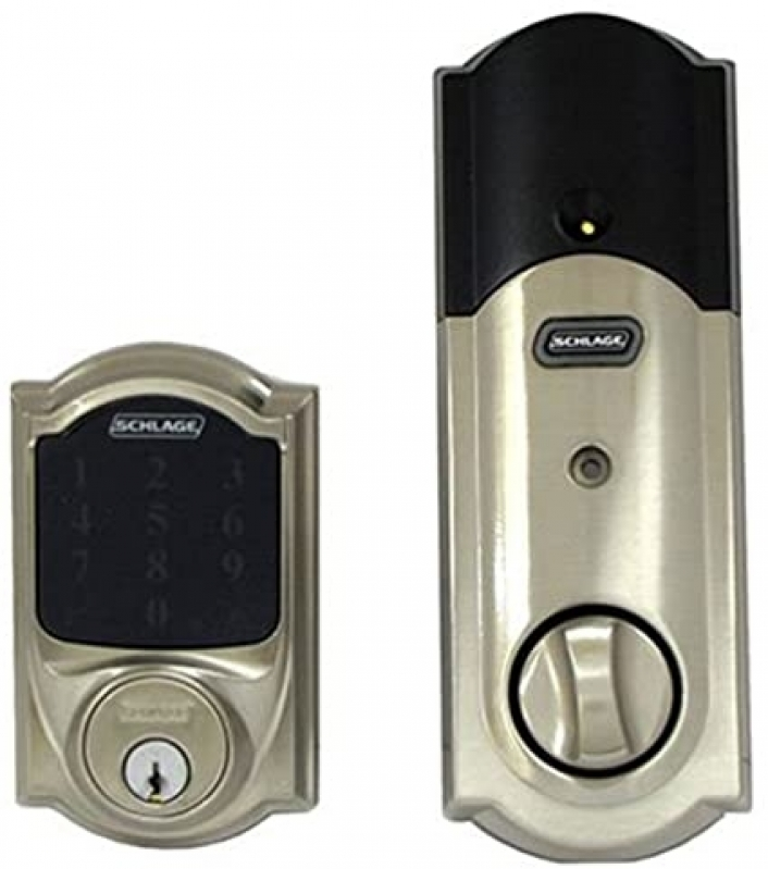 Fechadura Eletrônica Branca Vila Helena - Fechadura Eletrônica Biométrica