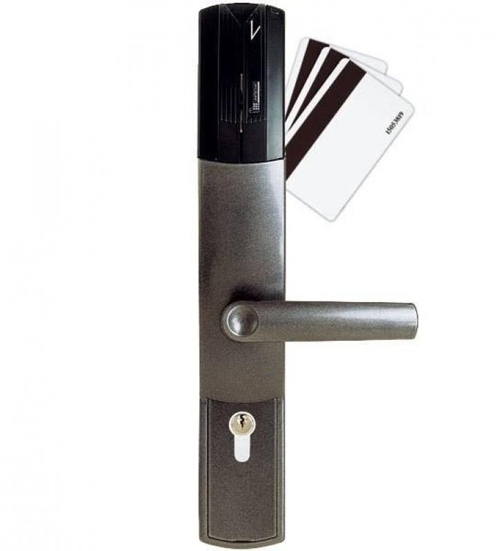 Fechadura Eletrônica com Chave Super Quadra Morumbi - Fechadura Eletrônica com Biometria