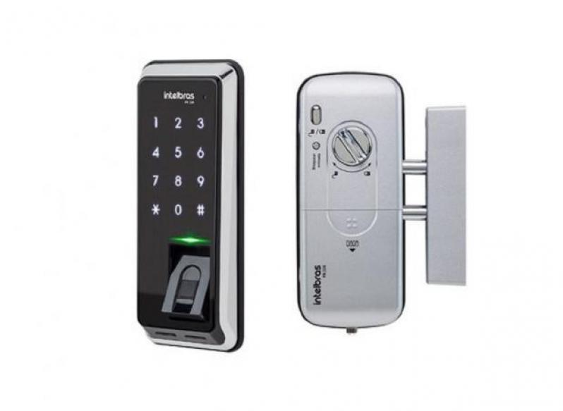 Fechaduras Eletrônicas Biométrica Olímpico - Fechadura Eletrônica Apartamento