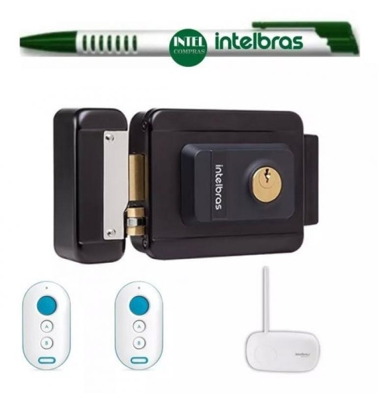 Fechaduras Eletrônicas com Controle Santo Antônio - Fechadura Eletrônica Biométrica
