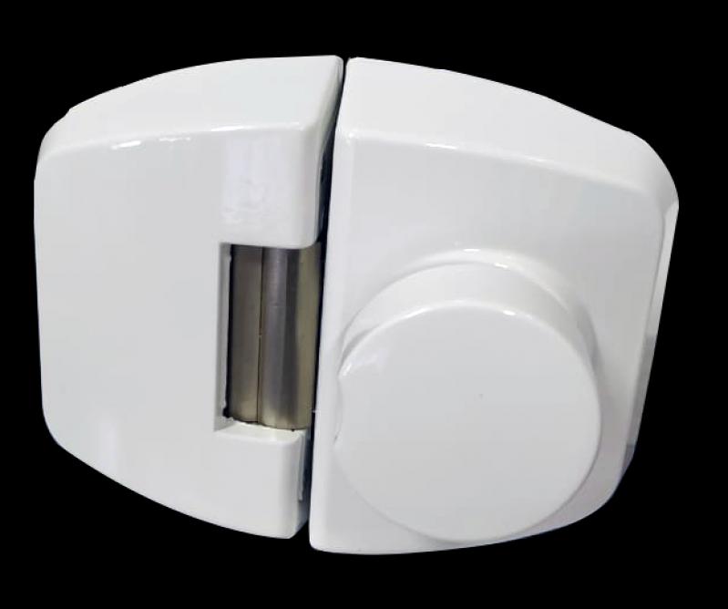 Quanto Custa Fechadura Eletrônica Branca Santo André - Fechadura Eletrônica Biométrica