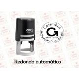 carimbo automático redondo para comprar Super Quadra Morumbi