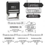 carimbos automáticos personalizado Santa Maria
