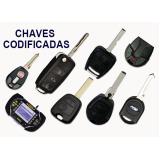 chaveiros de chaves codificadas Sacomã