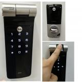 fechadura eletrônica com biometria valores Fundação