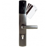 fechadura eletrônica com chave Parque Burle Max