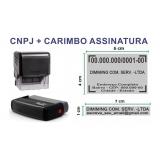 onde comprar carimbo automático cnpj Anchieta