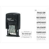 onde comprar carimbo automático datador Vila Nova Conceição
