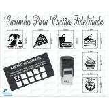 onde comprar carimbo automático personalizado Vila Progredior
