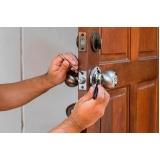 orçamento para conserto de maçaneta de porta Real Parque