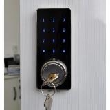 quanto custa fechadura eletrônica com chave Santa Maria